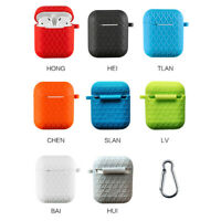 For Apple AirPods Case Protect Silicone Cover Skin Air Pod Earphone Protect Case