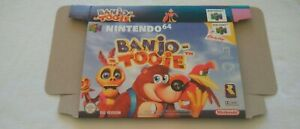 Banjo Tooie - N64 / Nintendo 64 - Repro Box / Replacement Box / PAL