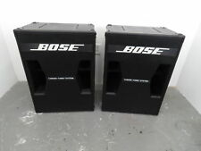 (2) Bose Tandem Tuned Bass System Speakers