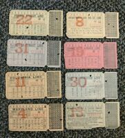 LOT 1903 Washington, DC Capital Traction Company Streetcar Ticket Trolley