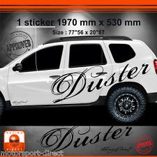 Sticker DACIA DUSTER tuning racing aufkleber adesivi pegatina decal 039