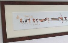 Tableau Bretagne art breton bord de mer aquarelle Ch. Cambier décoration marine