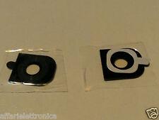 Lentille appareil photo vitre cadre chambre lentille verre pour lg G2 d800 d801 d802 noir