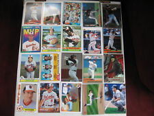 Lot of 20 Baltimore Orioles baseball cards. 1970s-present, RC, HOF, chrome