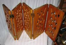 Vintage hand carved oak privacy confessional? screen