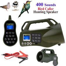 400 Sounds Outdoor Hunting MP3 Player Bird Animal Decoy Bird Caller Loud Speaker