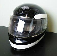 FULL FACE DOT MOTORCYCLE HELMET - BLACK SIZE M 57-58CM