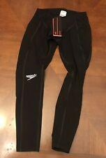 SPEEDO Fastskin Pro Men's Size 30 Swimsuit Black NEW Legskin Technical Suit FS