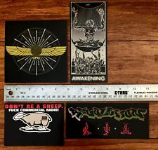 Doze Green /GM5 Graffiti Vintage Stickers 1990's -LAST SET!-VERY RARE!-NEW!