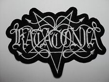 KATATONIA SHAPED LOGO  EMBROIDERED PATCH