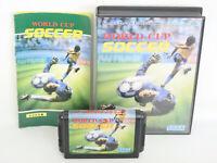 WORLD CUP SOCCER Item REF/ccc Mega Drive SEGA Japan Game md