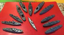 New listing Vintage Diecast Ships Tootsietoy Assorted Lot (12) K880, Dest, BattleShip,Sub