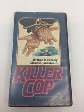 KILLER COP - 1975 - VHS - PAL - Intermovie Label - UNITED KINGDOM - VERY RARE