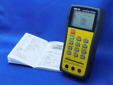 DER EE DE-5000 High Accuracy Handheld LCR Meter with TL-21 TL-22 NEW