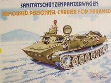 SDV MT LB Schützenpanzerwagen Ambulance Panzer Kunststoff Modellbausatz 1:87 H0