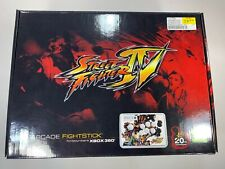 Street Fighter IV XBOX 360 Arcade Fight Stick Joystick Collectors Edition In Box