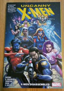 X-MEN DISASSEMBLED~ MARVEL TPB NEW 248 PAGES