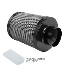8'' Activated Carbon Air Carbon Charcoal Filter w/ Pre-filter Ventilation System