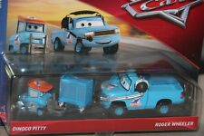 "DISNEY PIXAR CARS 3 ""2 PACK DINOCO PITTY & ROGER WHEELER"" NEW IN PACKAGE"