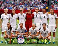 2015 WORLD CUP CHAMPIONS USA Soccer Glossy 8x10 Photo Poster Morgan Lloyd
