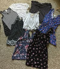 Lot of 9 Junior Women's Tops Tanks Shirts Small XS American Eagle Hollister