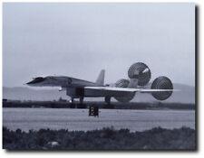 "XB-70 Landing With Parachutes Deployed  - 8"" x 10"" Unframed Aviation Art"