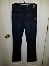 ROCK & REPUBLIC BOOTCUT JEANS, SIZE 6M, 29X33, NEW, LIFTS & SHAPES