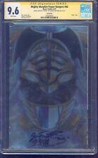 Mighty Morphin Power Rangers #40 FOIL CGC SS 9.6 signed Jason David Frank JDF
