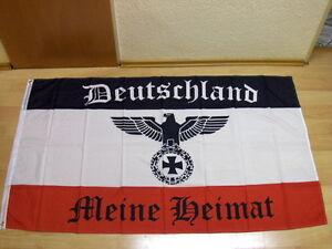 Fahne Flagge Deutsches Reich Deutschland Meine Heimat Reichsadler - 60 x 90 cm