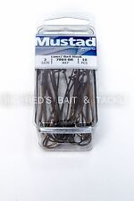 Mustad 7904  Sz 2 Classic Double Live Bait/Liver Hook W/ Extra Long Shank