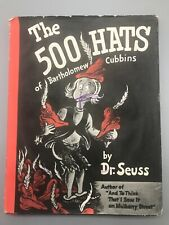 The 500 Hats of Bartholomew Cubbins 1938 1st Edition Early Printing VG