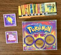 Bundle Pokemon Coin Game 1999 Abra Dragonite SeaKing 12 Artbox SP01 Pikachu
