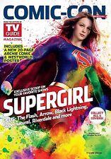 TV Guide Magazine 2017 COMIC-CON * Supergirl * New - No Label