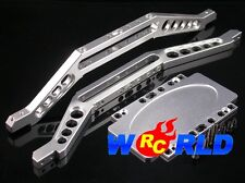 ALLOY CHASSIS BRACE w/LOWER PLATE S TRAXXAS EXTENDED E-MAXX T-MAXX 3.3