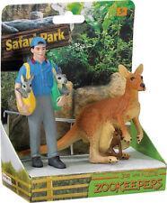Zookeeper Joe with Aussie  ~ FREE SHIP w/ $25+ Safari