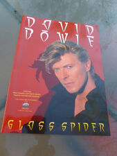 David Bowie Glass Spider Nice Scarce 1988 Video Store Promotional Promo Poster