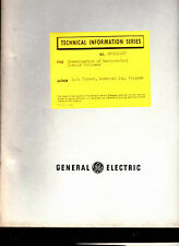 General Electric GE Technical Information Series & Data Folder 1950s Lot of 33