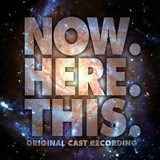 Now. Here. This. by Original Cast Recording CD New Case is Cracked
