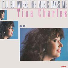 """45 giri 12"""" TINA CHARLES - I'll go where the music takes me / Love Bug(ITA 1988)"""