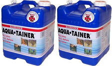 Reliance TWO 7 Gallon Aqua-Tainer Water Containers w/ New Vent 9410-23 BRAND NEW