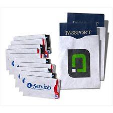 RFID Blocking Sleeves, 10 Credit Card & 2 Passport Identity Theft Protectors