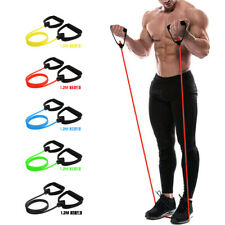 Up Handle Assisted Pull Rope Fitness Stretch Resistance Bands Exercise Cords