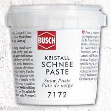 (3,99�'�/100g) BUSCH 7172 Schneepaste, Kristall-Schneepaste, 150g, Neu