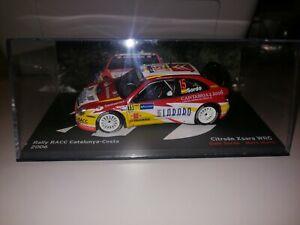 Coche Rally CITROEN XSARA WRC Dani Sordo 1:43