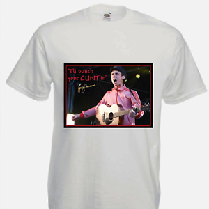 Gerry Cinnamon Adults Tee Tshirt - I'll Punch your C*** In, Funny Humour Gig Top