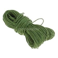 20m Waxed Cotton Cord Bundle 1mm Jewellery Making String Thread