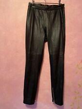 AllSaints, Leather Koby Leggings, Size 10