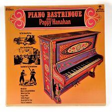 Piano Bastringue Avec Pappy HanaHan  LP Vinyl Album Pïckwick NG-1717