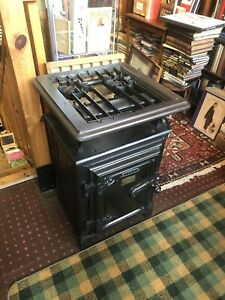 19th Century Antique Gas Cooker : Stove Hipster Garden Barbecue / Barbeque c1895