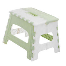 Folding Step Stool for Adults & Kids Kitchen Small Foot Stools Plastic Indoor